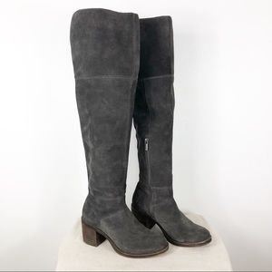 Lucky Brand Ramsden Over the Knee Boots 5.5